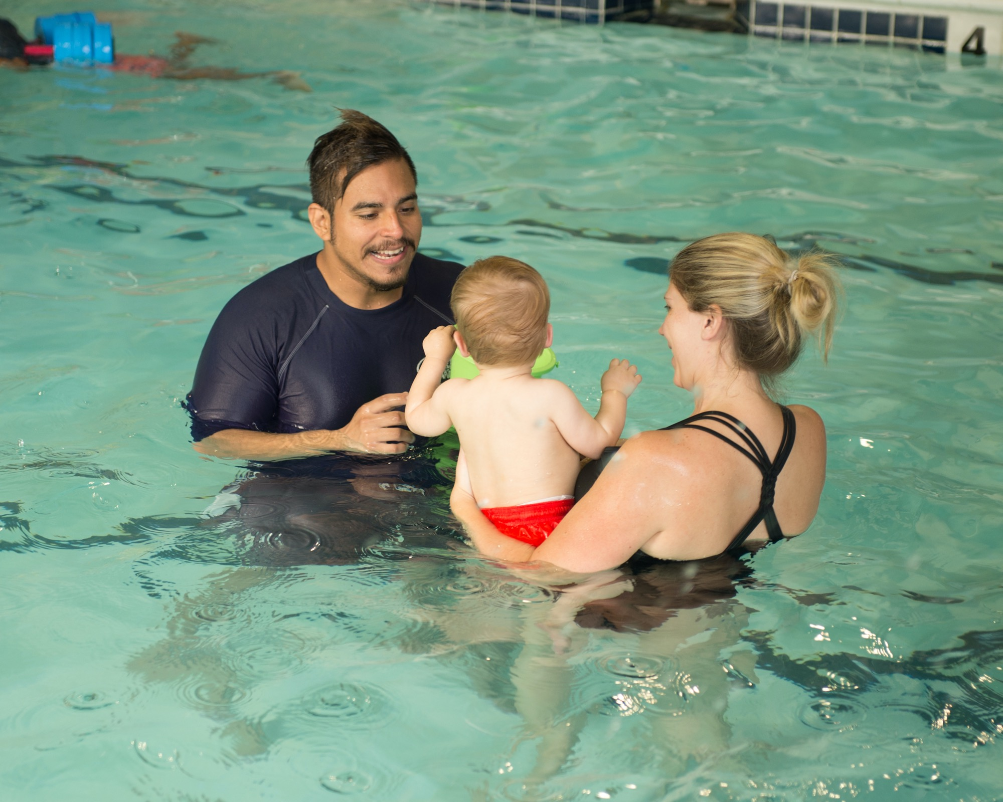Beginner Swim Class for Babies & Their Parents