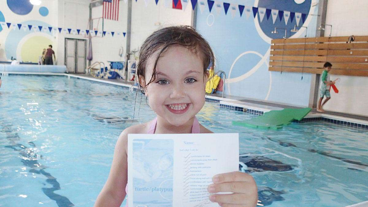 Intermediate Swim Class for 5 Year Olds