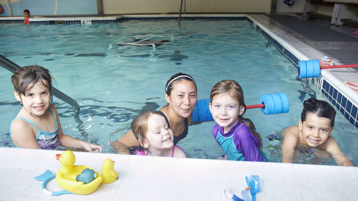Swim Lessons for the Houston area Children