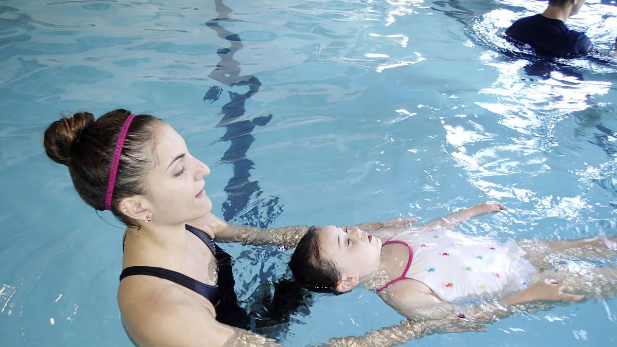 Beginner Swim Class for 3 Year Olds