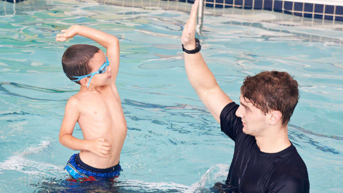 Intermediate Swim Classes for 6 Year Olds